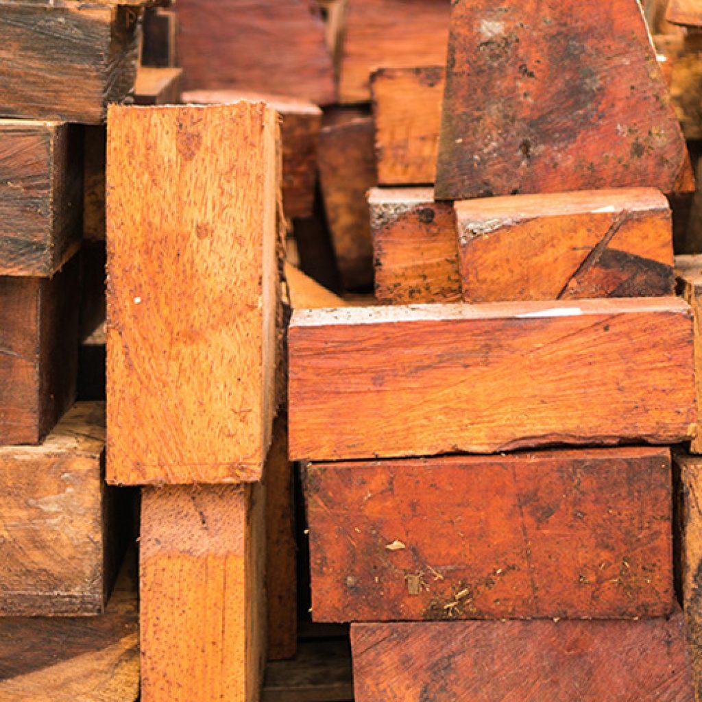 Rustic Hawaiian Koa Lumber
